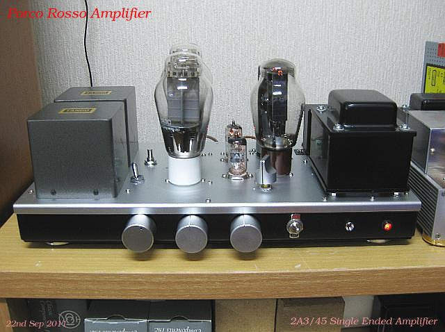 45/2A3 single ended amplifier