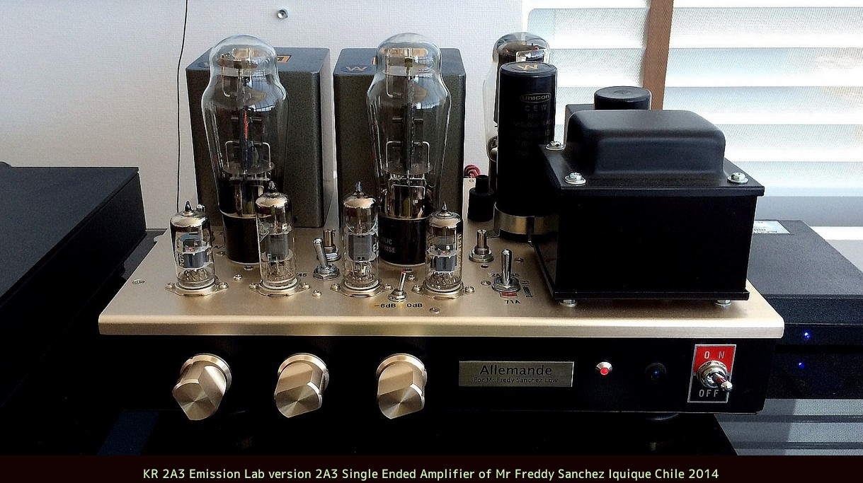 2A3 and 45 single ended amplifier
