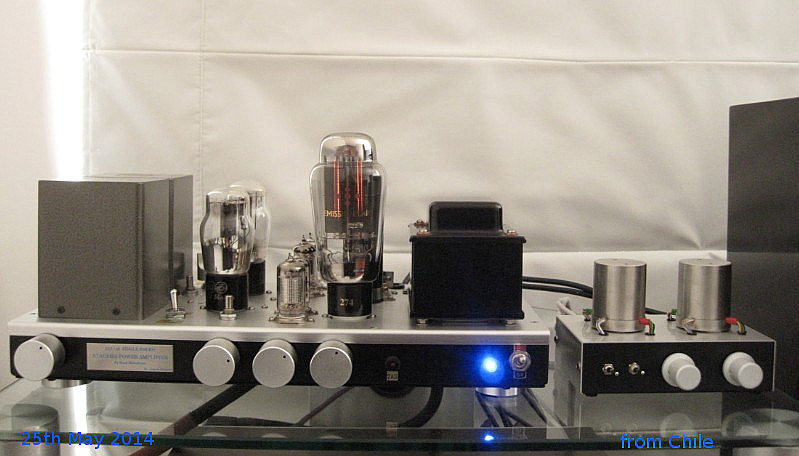 Atacama 2A3/45 Single Ended Amplifier 2014
