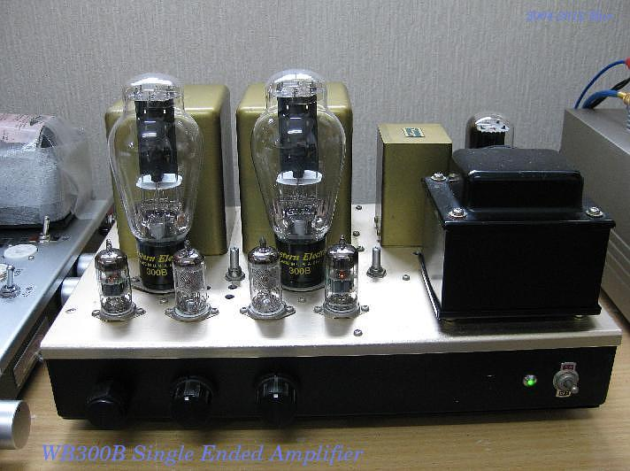 WE 300B Single Ended Amplifier D I Y