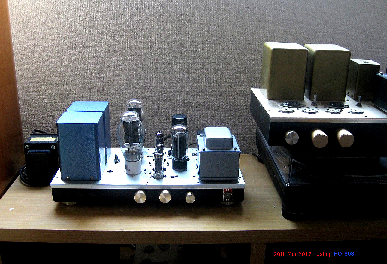 HO-808 Using 300B Single Ended Amplifier
