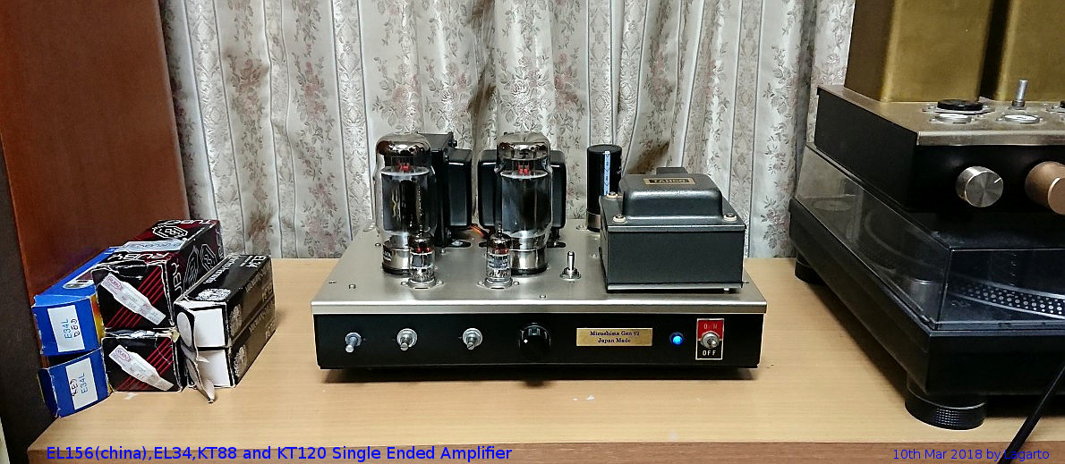 KT120 Single Ended Amplifier