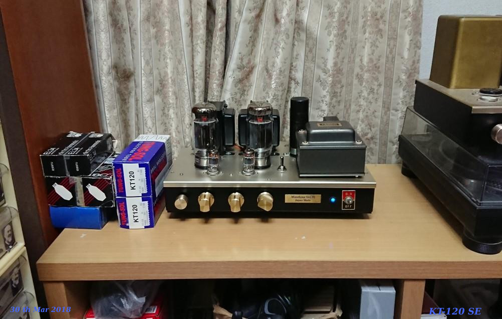 as KT-120 Single-Ended Amplifier 2018