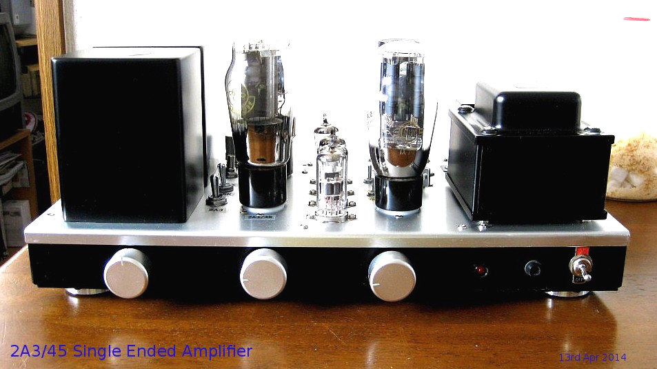 Hashimoto 2A3/45 Single Ended Amplifier