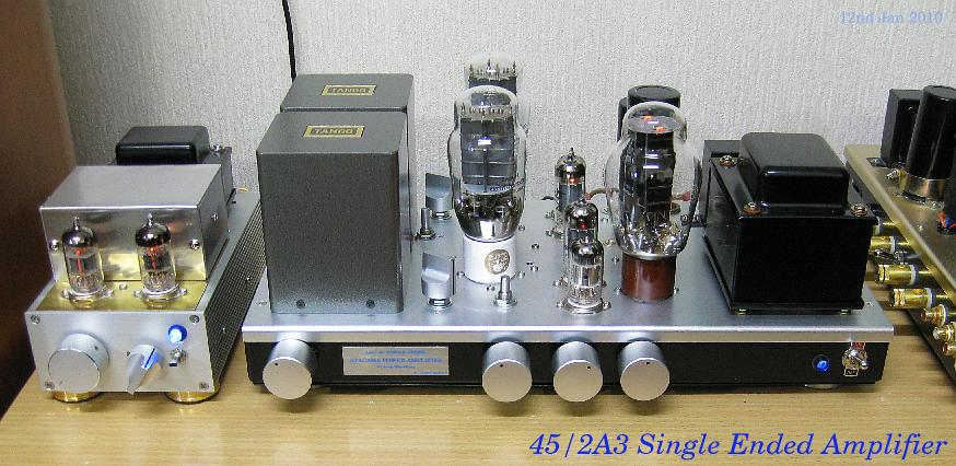 2A3/45 and DAC line amplifier 2010