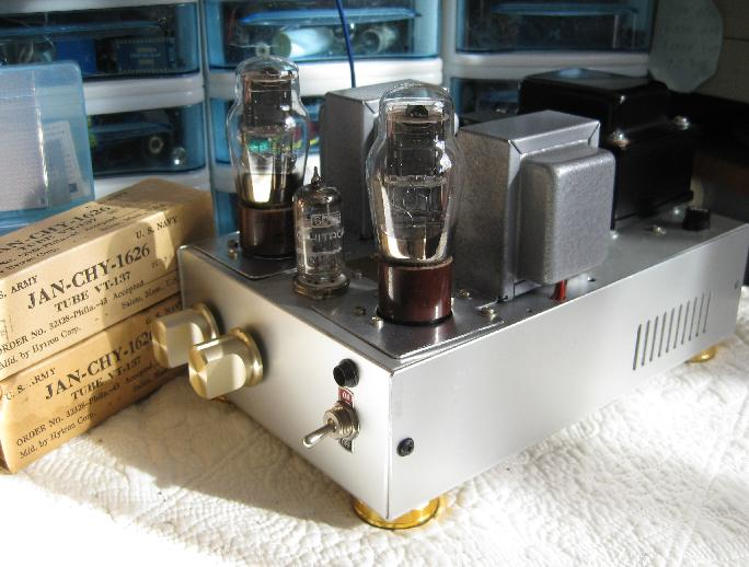 Version 1   1626 single ended amplifier