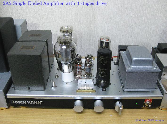 2A3C Single Ended Amplifier 2012