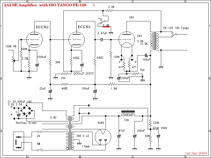 6l6 tube amplifier schematic  | single-ended.com
