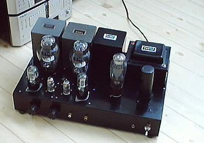 2A3 Single Ended Amplifier