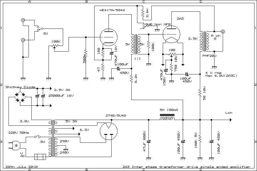 schematic a se  zen diagram, schematic
