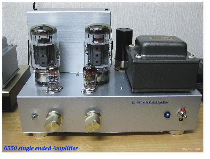 6550/KT88 Single Ended Amplifier