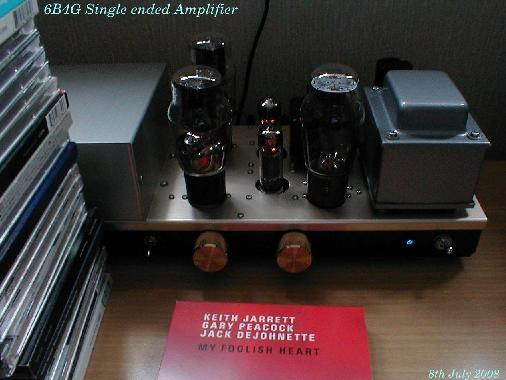6550/KT88/EL34 Single Ended Amplifier then 6B4G SE