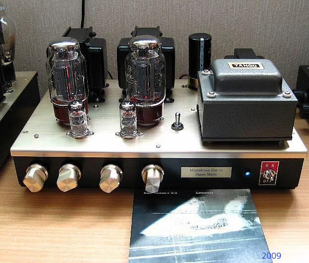 EL156/6550  Single Ended Amplifier