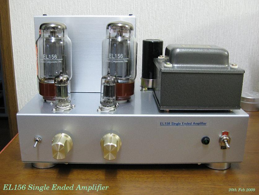 EL156/KT88/6550/KT90 then KT120 Single Ended Amplifier D I Y
