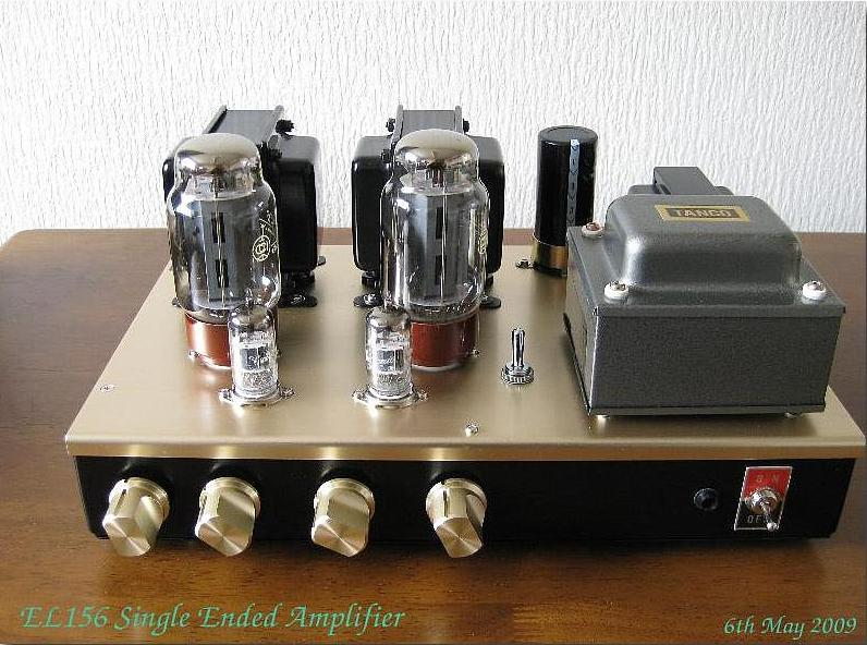EL156(China) Single Ended Amplifier