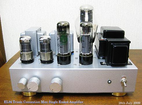 EL34 Triode connection SE