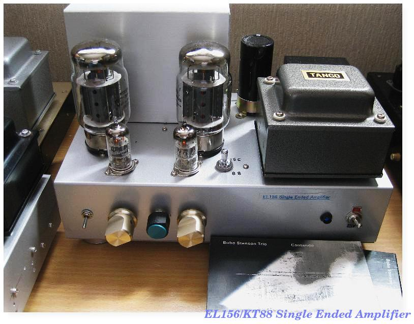 KT88/EL156china Single ended amplifier