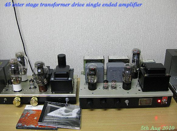 OPT-20S 45 single ended amplifier