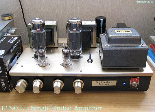 KT90 UL Single Ended Amplifier
