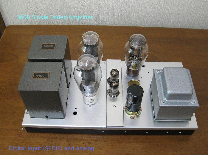 300B Single Ended Amplifier 2010